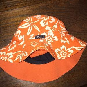 Other - Orange Ralph Lauren bucket hat